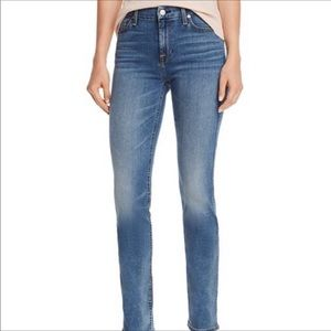7 For All Mankind Kimmie Light Straight Leg Jeans
